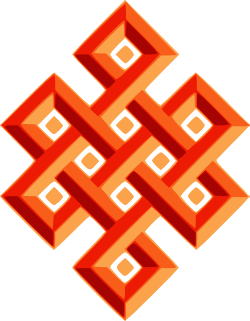 the traditional Endless Knot